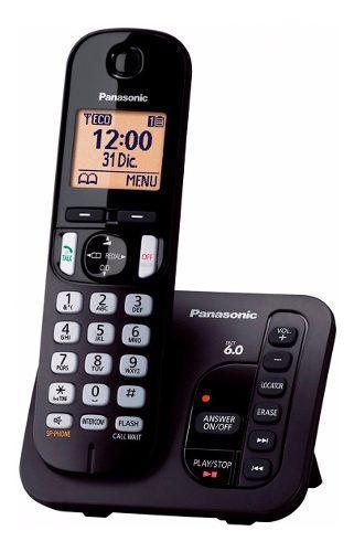 Teléfono inalámbrico panasonic kxtgc220 c/contestador id