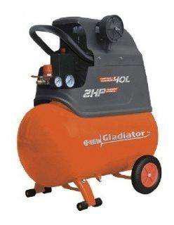 Compresor gladiator -40 lts / 2 hp modelo ce640/220m