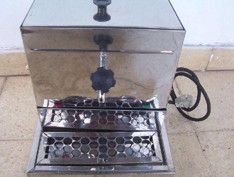 Expendedora dispenser agua caliente acero inox. 5 litros
