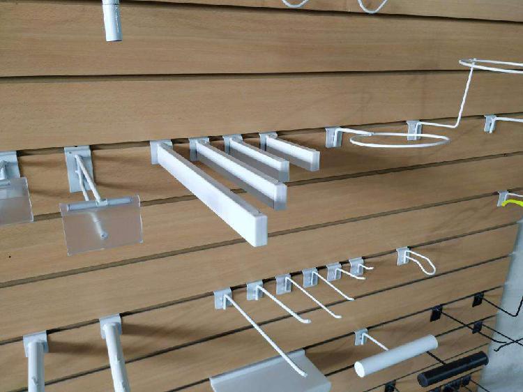 Ménsulas para rapiwall 25cm 15 unidades panel ranurado