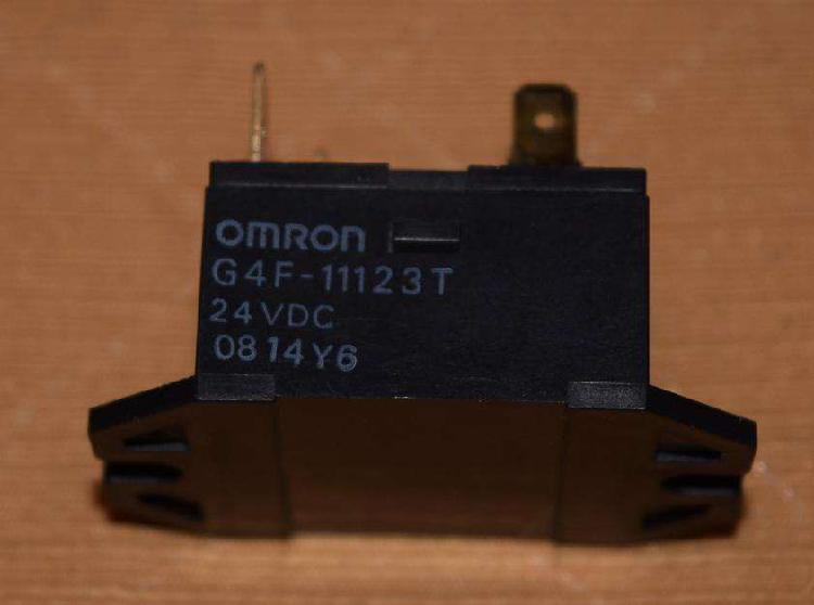 Relé de potencia 24v, 15a en 250vac, omron g4f, minilabs o