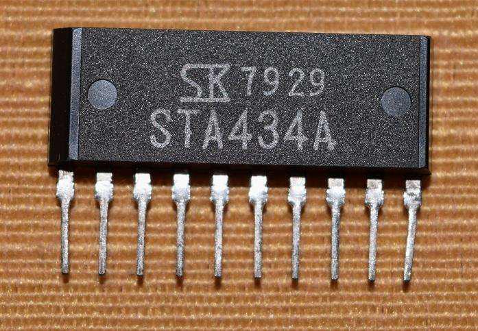 Sta434a, darlington, nuevo, minilabs o electrónica