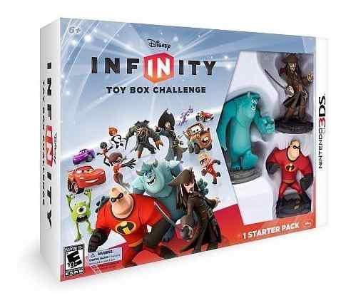 Disney infinity 1.0 starter pack nintendo 3ds- minijuegosnet