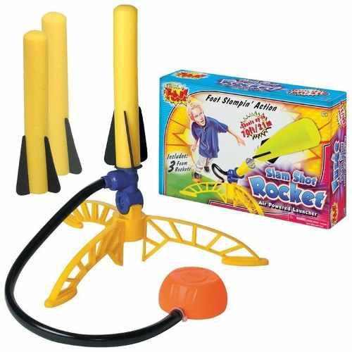 Juguete lanzador de dardos extreme fun - acciona pisando