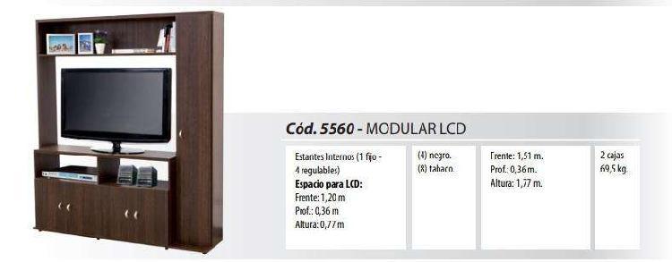 Modular lcd led tv art 556 platinum