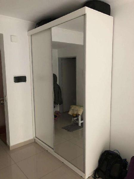 Placard blanco con espejo excelente calidad
