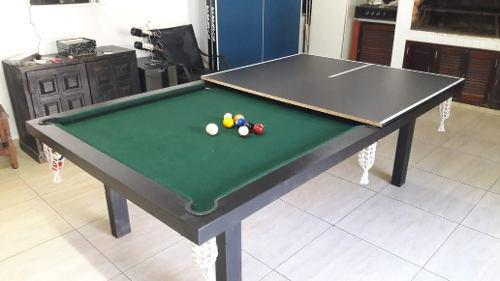 Pool semiprofesional +accesorios+tapa de ping pong+embalaje!