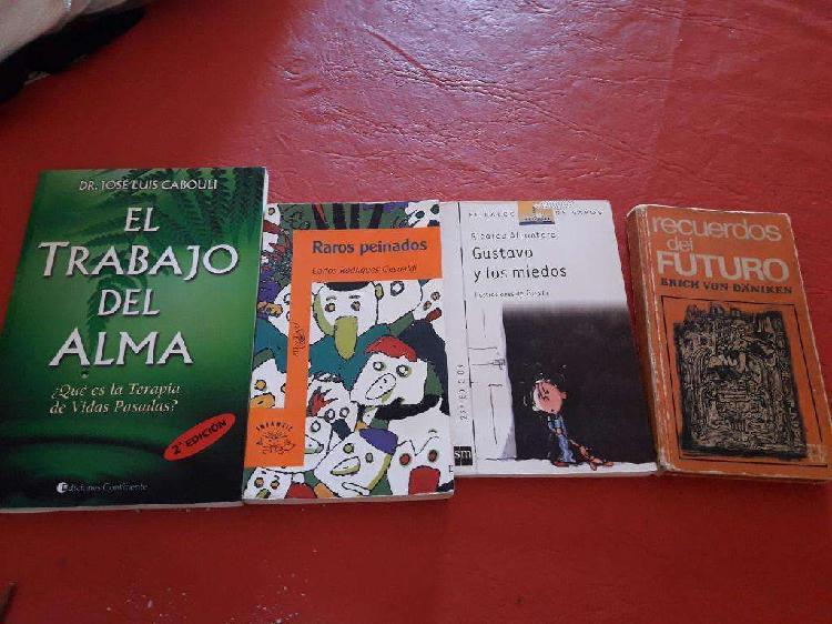 4 libros x 300