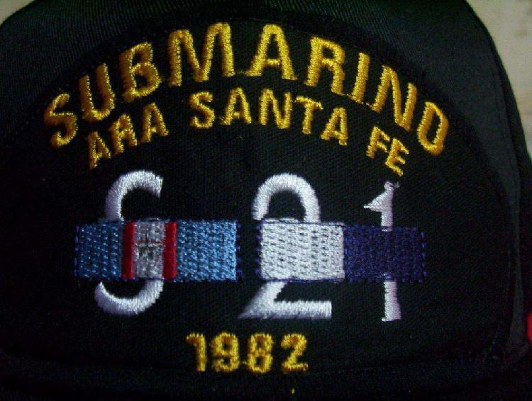 Gorra submarino ara santa fe s21 malvinas