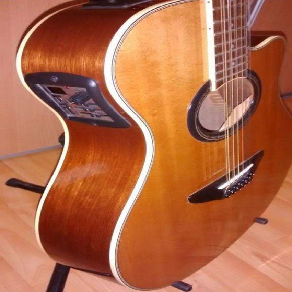Guitarra electroacustica yamaha apx 700 12 cuerdas c/nueva