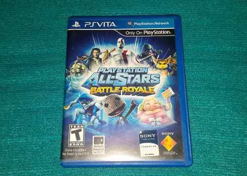 Juego físico playstation all-stars ps vita