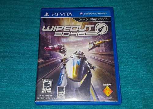 Juego físico wipeout playstation vita