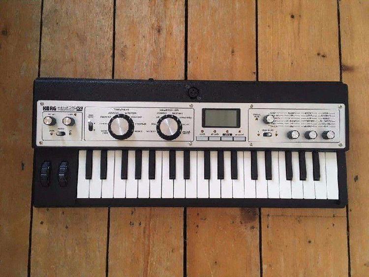 Korg microkorg xl sintetizador analogico 8 bandas