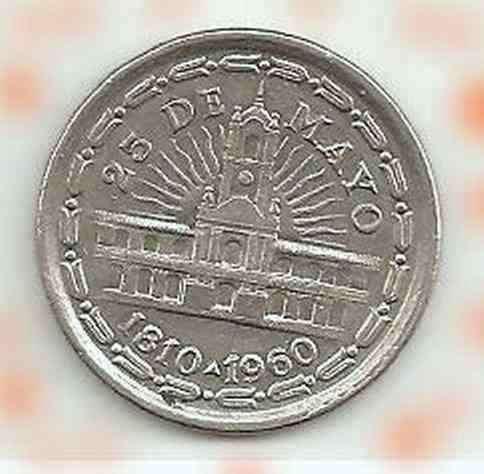 Moneda conmemorativa 150 aniversario de revolución de mayo