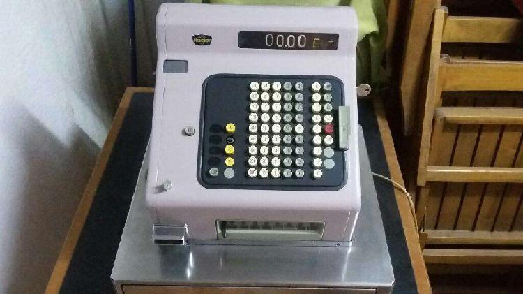 Máquina registradora hasler antigua