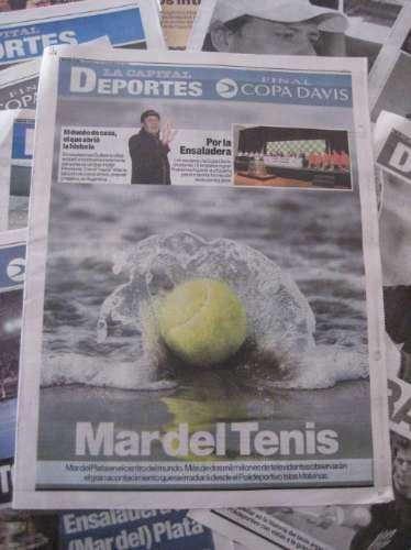 Oferta lote diarios copa davis 2008 tenis