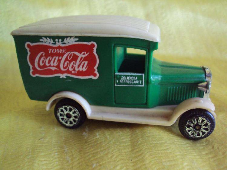 Camióncito de colección coca cola