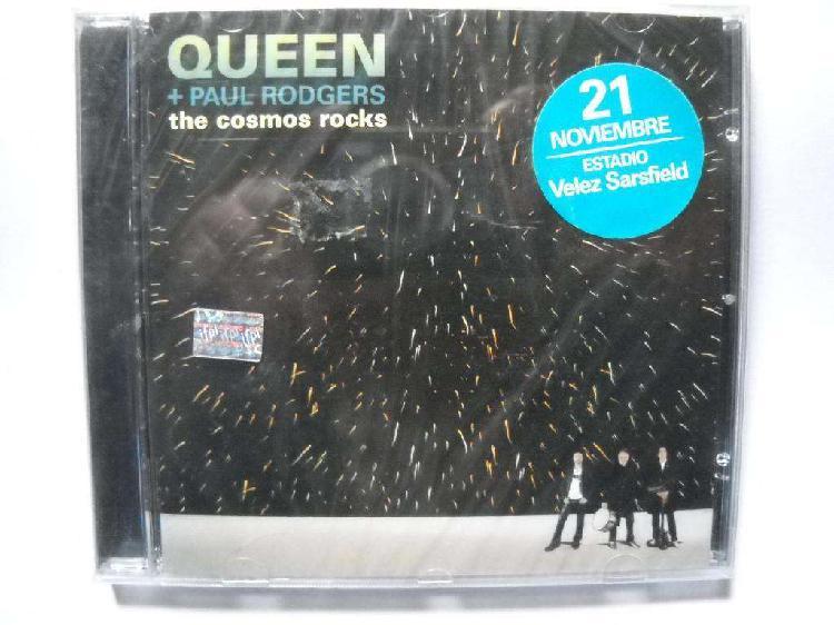 Queen paul rodgers the cosmos rocks cd nuevo sellado