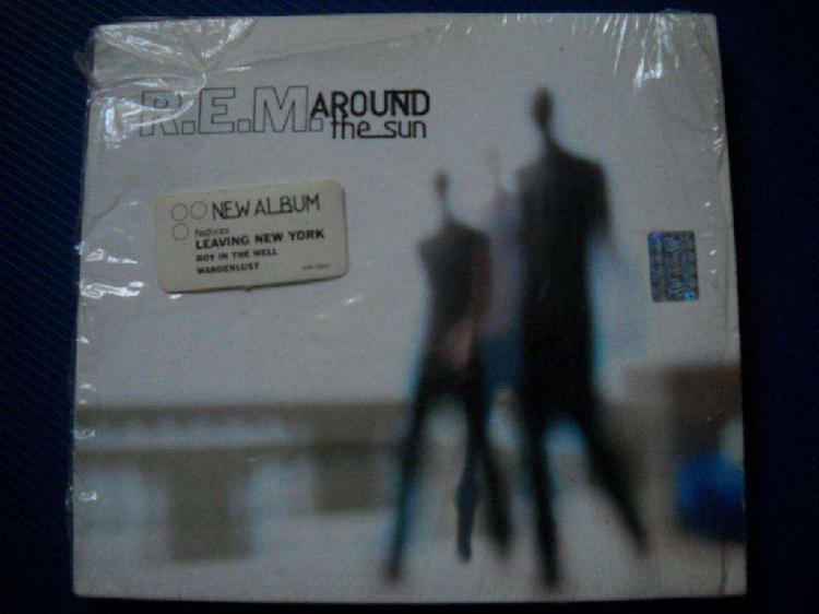 Rem around the sun cd nvo celofan abierto