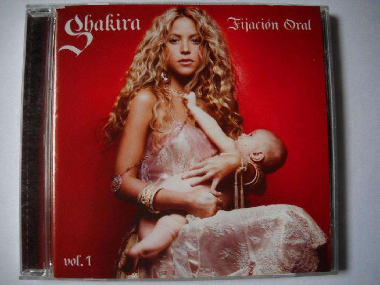 Shakira fijacion oral vol. 1 cd nuevo sin celofan