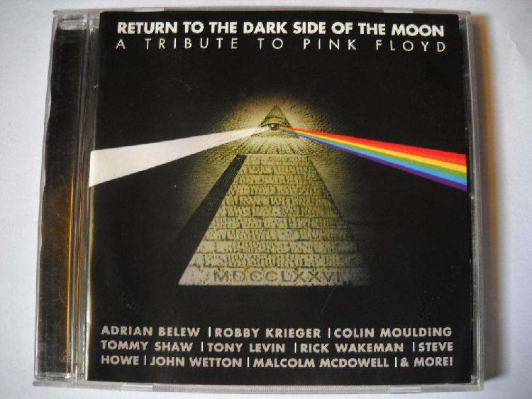 Tribute to pink floyd return the side of the moon cd como