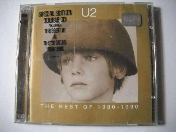 U2 best 1980 1990 2 cd detalle en 1 cd