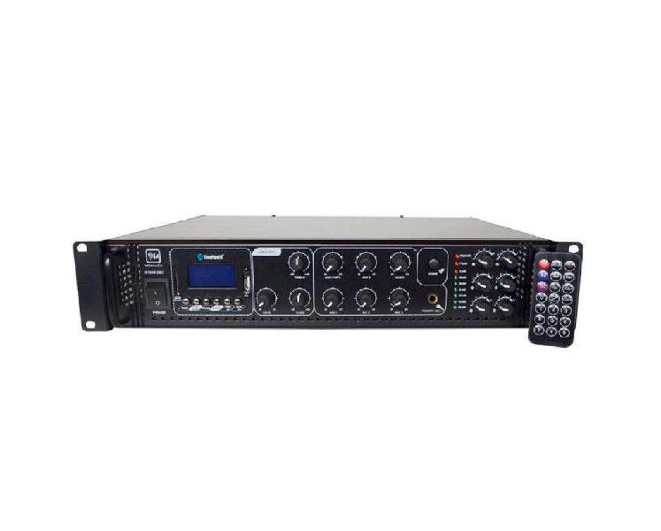 Amplificador musica funcional vmr st-2180-bc 6 zonas 180w
