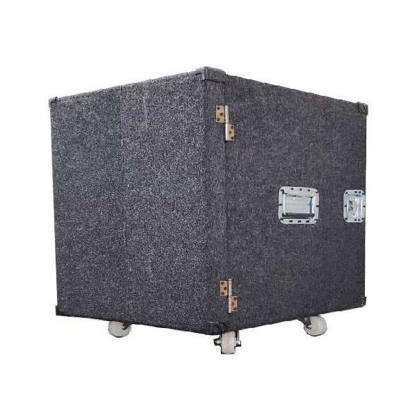 Anvil case rack alfombrado 12 u alto potencias procesador