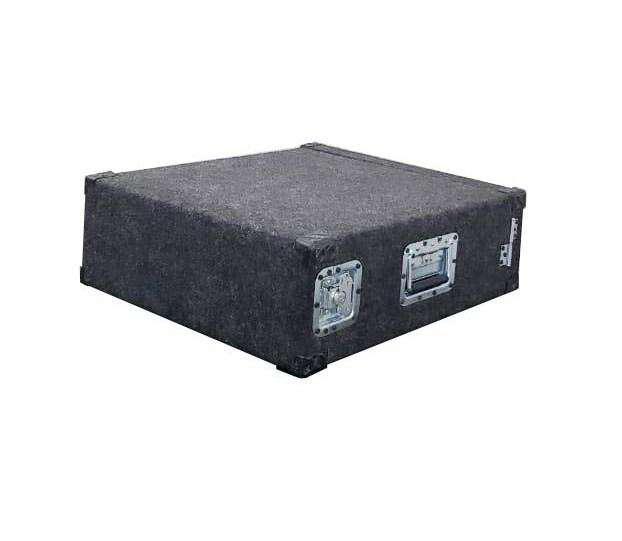 Anvil case rack alfombrado 3 u alto potencia procesador