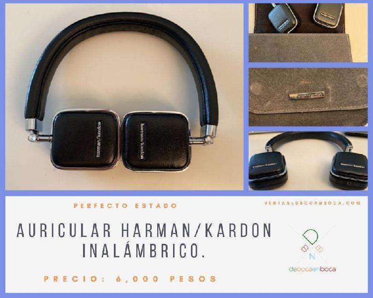 Auricular harman/kardon inalámbrico.