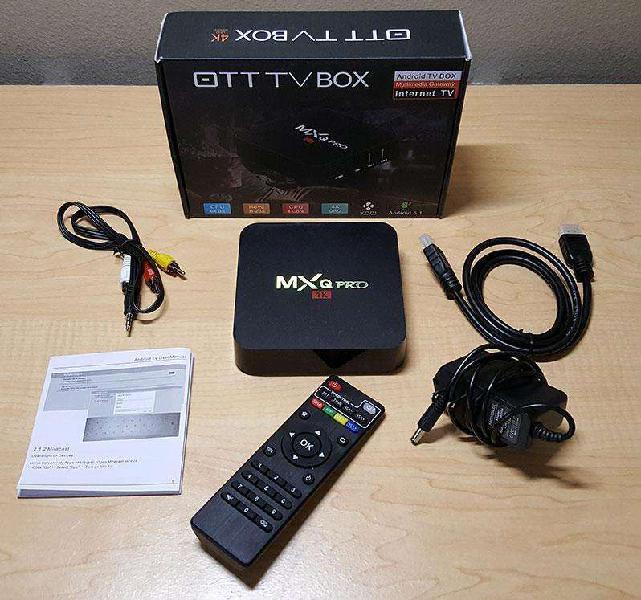 Conversor smart tv box mxq pro 4k ulhd android netflix 2017