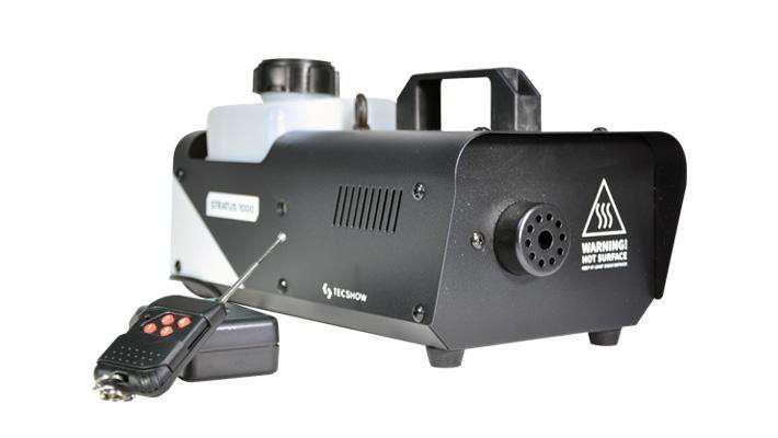 Maquina Humo 1000w Stratus 1000 American Pro Tecshow