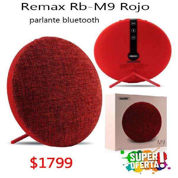OFERTA! Parlante Bluetooth Portatil Remax Rb-m9 Con Soporte