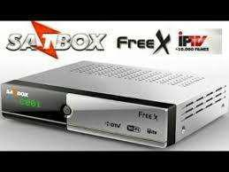 Receptor satelital fta satbox free x 4k h265