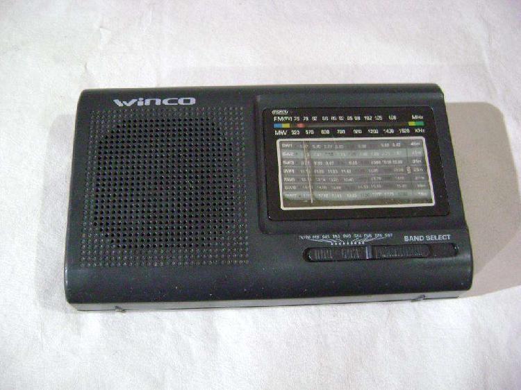 Radio am fm winco 2005 usada con detalle funcionando