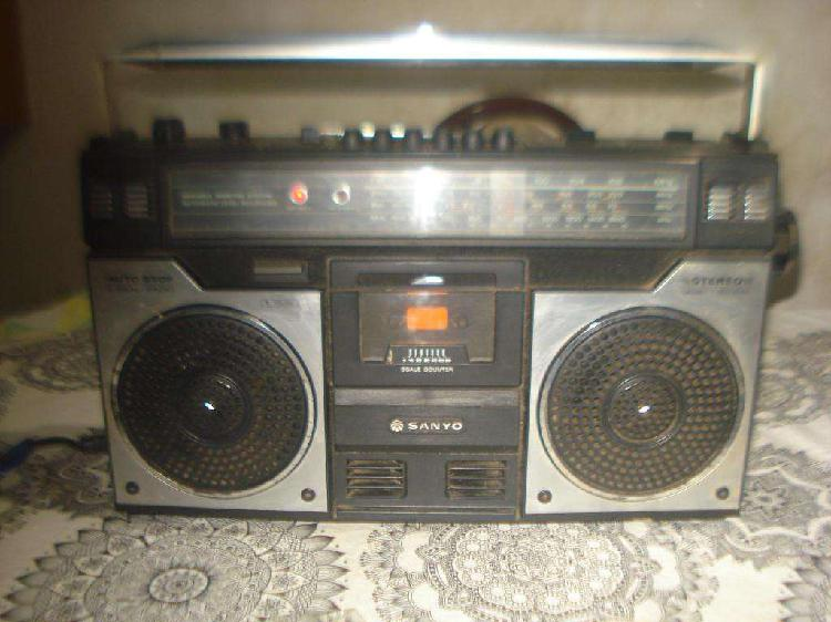 Radiograbador sanyo m4100k japan funcionando no envio