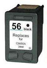 Cartucho nro. 56 negro xl marca alternativo