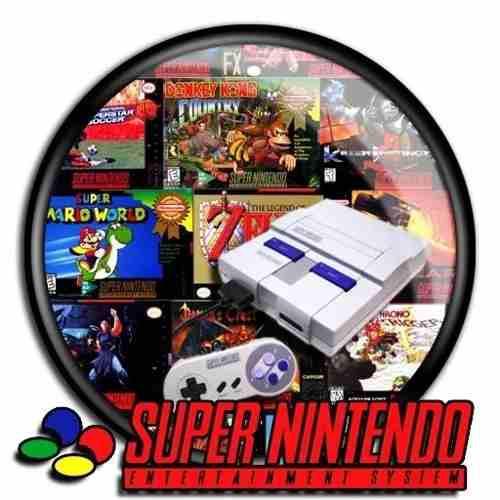 Colección de juegos super nintendo para windows mas de