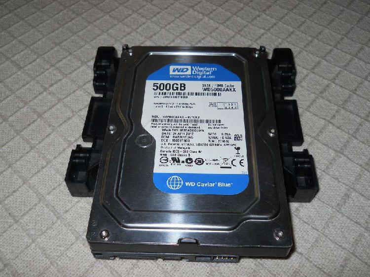 Disco rígido western digital caviar blue 500 gb sata 16mb