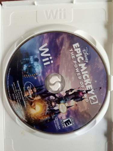 Epic mickey2 juego, mickey, wii, cd, original, oportunidad!