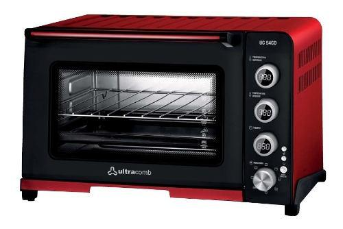 Horno eléctrico digital ultracomb uc-54cd 54 lts 1800w pce