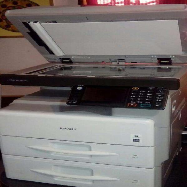 Impresora multifuncion ricoh aficio