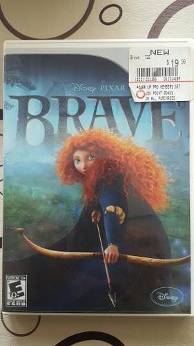 Juego wii brave (valiente) disney pixar físico original