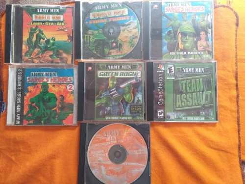 Juegos de play 1 army men