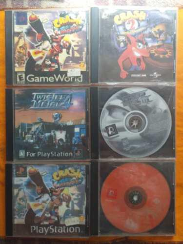 Juegos de play 1 crash y twister metal