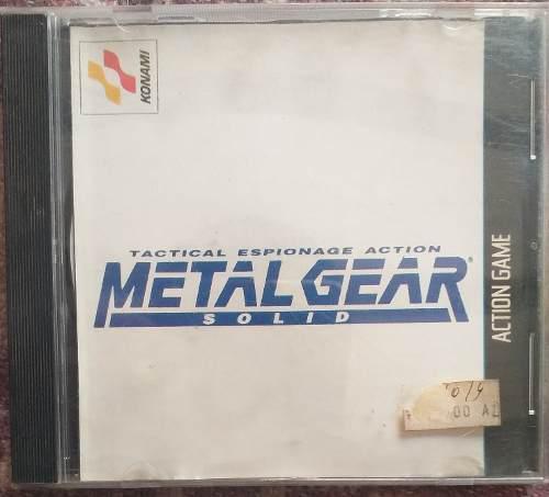 Juegos de play 1 metal gear solid 2cd plateados