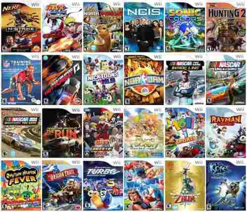 Juegos digitales wii todos salidos a la fecha pc emuladores