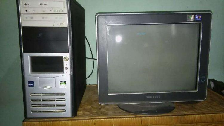Monitor y cpu