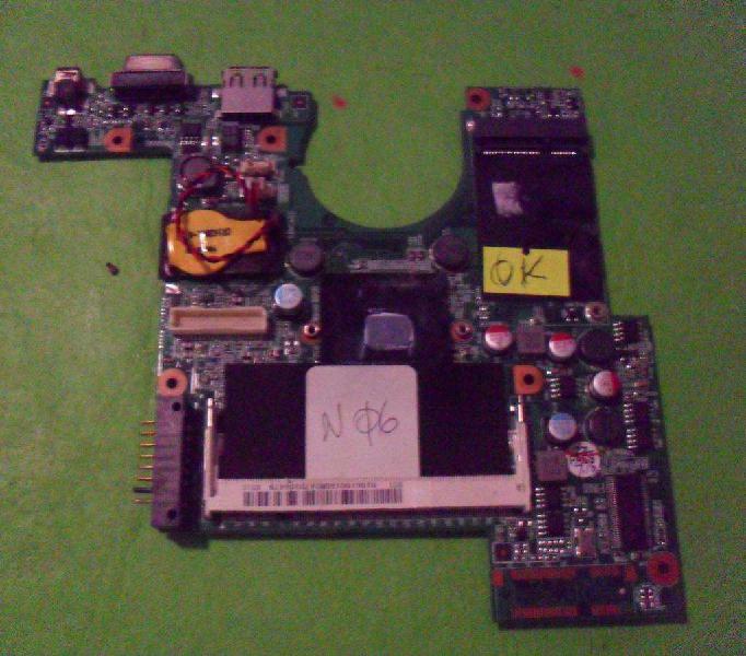 Motherboard x01 mb npb ver:b para reparar o repuesto