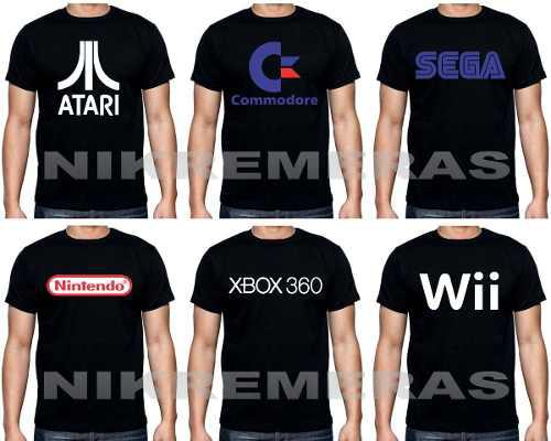 Remeras juegos playstation,consolas,software,pc,wii,ps3,ps2